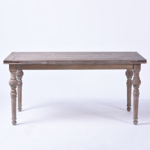 Continental Casual and Simple Rectangular Dining Table