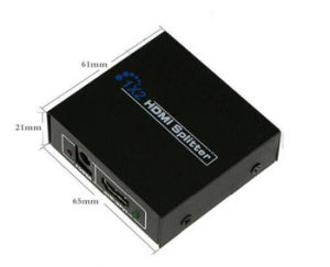 Fully Compatible with Hdcp 1 in 2 out 1X2 HDMI 1.4 Splitter pictures & photos