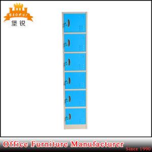 Six Layers Metal Vertical 6 Doors Locker pictures & photos