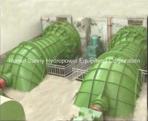 Hydro (Water) Tubular Turbine-Generator High Voltage 1.2~7.6MW / Hydroturbine / Hydropower pictures & photos
