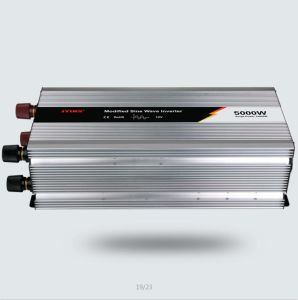 5000W 12V/24V/48V DC AC 110V/220V Modified Sine Wave Power Inverter pictures & photos