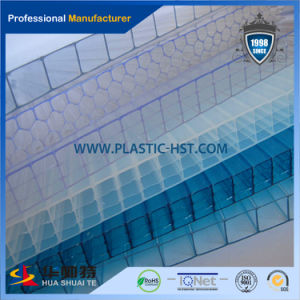 Sabic/Bayer Polycarbonate Resin High Light Transmission Hollow Sheet pictures & photos