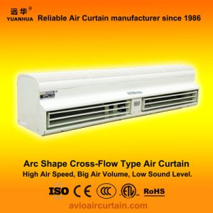 Arc Shape Cross-Flow Air Curtain FM-1.5-12b