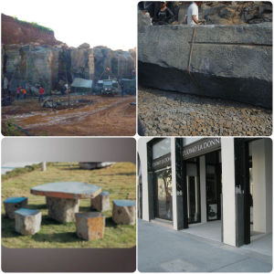 Basalt Paver Stone for Project pictures & photos