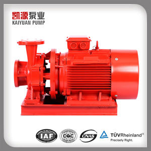 3.7kw Horizontal Centrifugal Fire-Fighting Pump, End Suction Fire-Fighting Water Pump pictures & photos