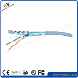 STP 0.57mm Copper Cat5e Ethernet/Network Cable pictures & photos