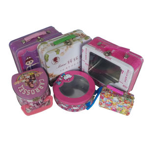 Wholesale Metal Handled Lunch Box for Food Container pictures & photos