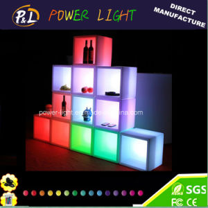 Bar Furniture Plastic RGB Square LED Display-Back Bar pictures & photos