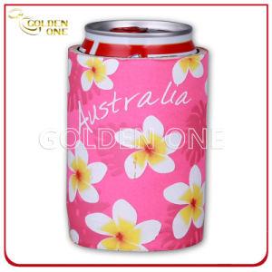 Fashion Design Neoprene Heat Transfer Printing Bottle Stubby Holder pictures & photos