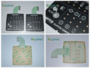 Waterproof Electronic Control Keypad Membrane Switch with LED Backlighting pictures & photos
