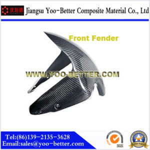 Carbon Fiber Motorcycle Parts for Front Fender