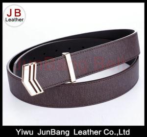 Unique Style Plate Buckle PU Belt pictures & photos