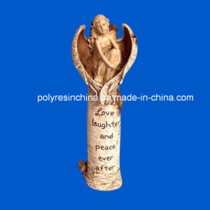 3D Resin Angel with Wood Carving Words pictures & photos