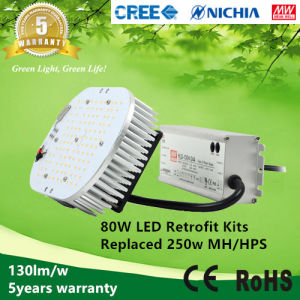 130lm/W 80W LED Retrofit Kits to Replace 250W Metal Halide Lamps pictures & photos