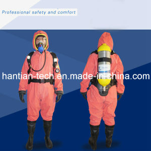 Half Closed Light Duty Chemical Protective Suit for Sale (2WD) pictures & photos