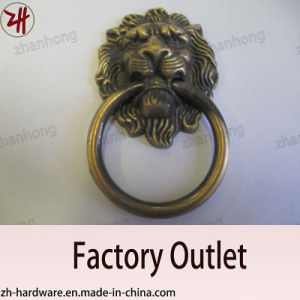 Door Handle, Zinc Alloy Pull, Door Knocker, Archaize Handle (ZH-1354)