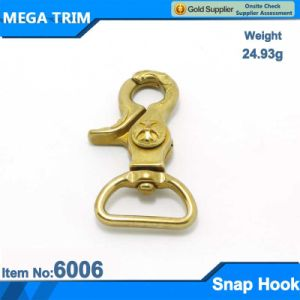 Light Gold Swivel Eye Snap Hook pictures & photos
