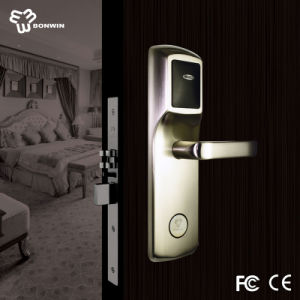 Hotel Supply for Swipe Card Mortise Cylinder Safe Door Lock pictures & photos