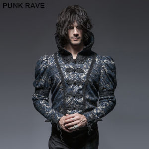 Y-645gothic Spring Gorgeous Retro Man Short Coat pictures & photos