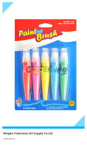 5*14ml Common Color Tempera Paint with Brush for Students and Kids pictures & photos