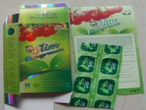 Slim Pomegranate Slimming 100% Natural Weight Loss Capsule pictures & photos