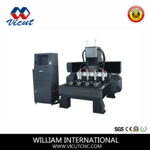 CNC Router Furniture Carving Rotary 3D Wood Router Wood Cutting Machine Engraving Machine pictures & photos