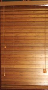 Manual 25mm Bamboo Venetian Blinds Wooden Material pictures & photos