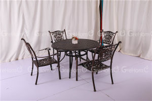 Outdoor Garden Aluminum Chair Dining Set