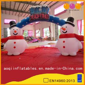 Christmas Decoration Snowman Arch for Celebration (AQ53149) pictures & photos