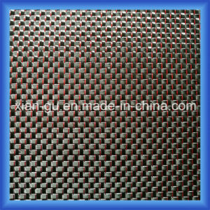 Red Thread Silver Wire Carbon Fiber Cloth pictures & photos