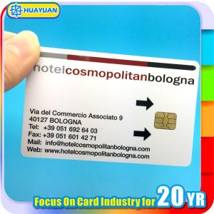 Sle5542 / Sle5528 Contact Smart Card for Hotel Access Control pictures & photos