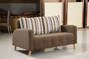 Modern Folded Living Room Sofa Bed pictures & photos