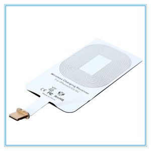 500-1000mAh Qi Wireless Charging Card Receiver Kit for iPhone 5s pictures & photos