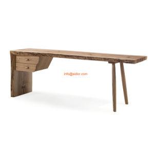 (SL-8001) Hotel Restaurant Home Public Furniture Solid Wood Writing Table Desk pictures & photos
