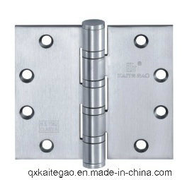 "Stainless Steel Ball Bearing Wooden Door Hinge (4.5""X4.5""X4.5-4BB) pictures & photos"