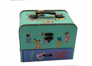 Handmade Wooden Cosmetics Organizer with Drawers pictures & photos