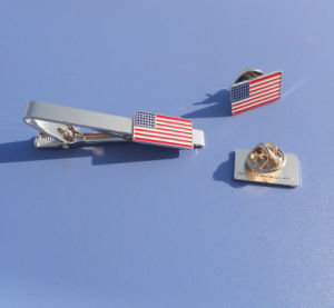 U. S. Country Flag Trading Pin and Tie Clip Tie Bar pictures & photos