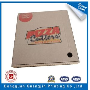 Rigid Corrugated Paper Pizza Packaging Box pictures & photos
