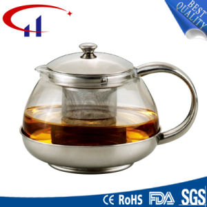 Handmade High-Quality Best-Sell Borosilicate Glass Teapot (CHT8013) pictures & photos