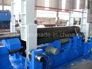 Pre-Bending Capability W11s-12*2500mm Plate Rolling Machine/Three Rolls Plate Bending Machine /Hydraulic Profile Bending Machine with Three Rolls pictures & photos