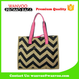 Designer Women Jute Hand Bag Portable Handbag pictures & photos