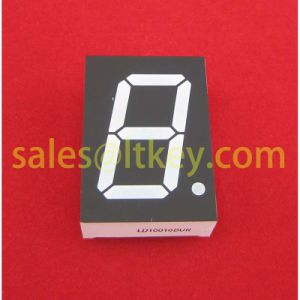 0.8 Inch Single Digit 7 Segment LED Display with Rt Hand Decimal pictures & photos
