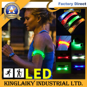 LED Wrist Band for Sport Safety (KLG-1009) pictures & photos