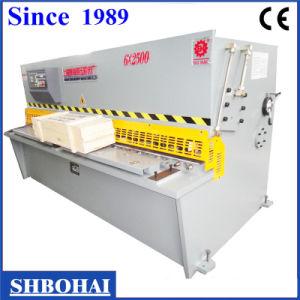 Hydraulic Pendulum Plate Shear Machine (QC12Y 8 X 2500) pictures & photos