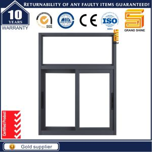 100f Series Aluminum Sliding Window with Crimsafe Flyscreen pictures & photos