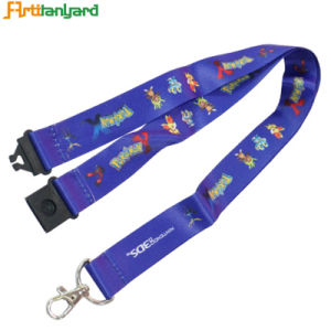 Customized Sublimation Heat Tranfer Lanyard pictures & photos