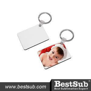 Bestsub Rectangle Hardboard Promotional Key Ring (MYA08) pictures & photos