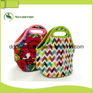 Lightweight Washable Insulated Totes Neoprene Lunch Bag for Big Lunches pictures & photos