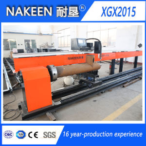 Three Axis CNC Stainless Steel Pipe Cutting Machine pictures & photos