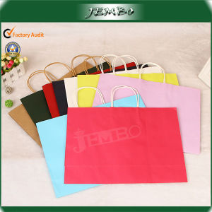 Wholesale Kraft Paper Shopping Tote Bag pictures & photos